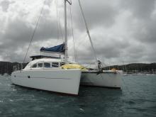 Lagoon 380 : Mouillage en Martinique